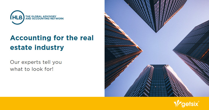 Accounting for the real estate industry
