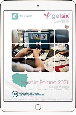 Tax brochure by getsix® Invest in Poland 2021