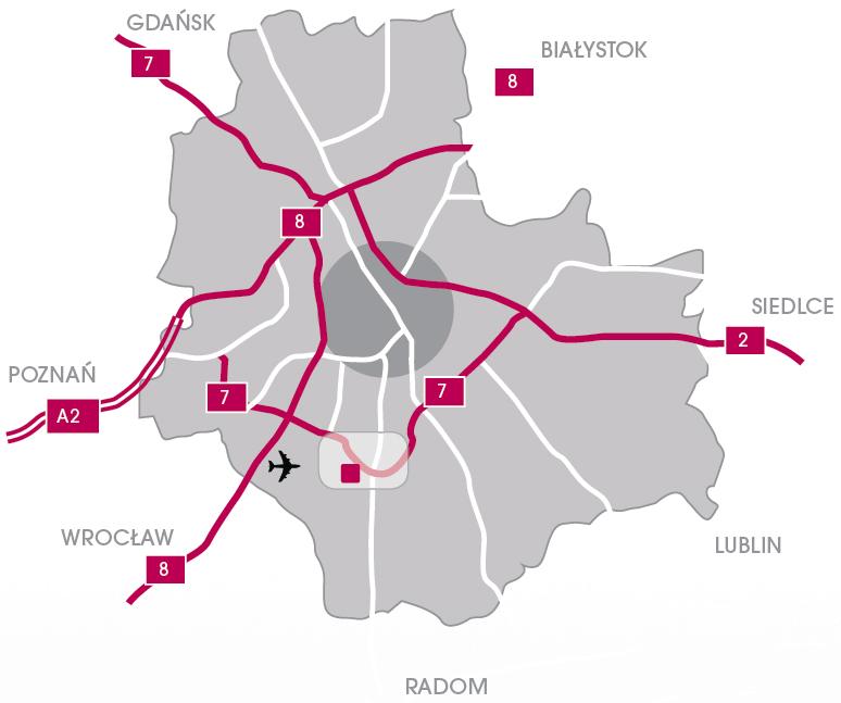 Warszawa Map 2
