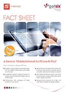 Fact Sheet Mobile Extranet