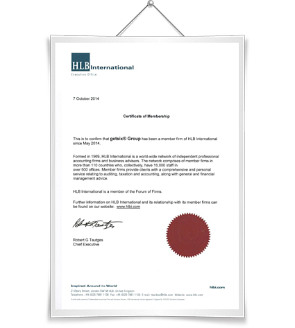 certificate-HLB-International-Membership