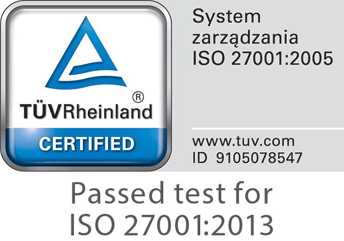 getsix TUV Rheinland certified