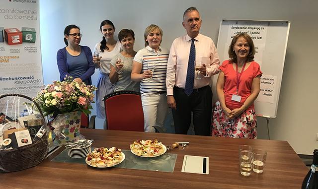 Magdalena celebrates 5 years at getsix®