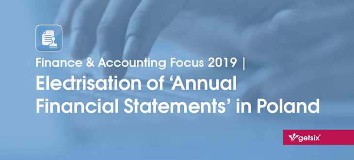 Electrisation of Annual Financial Statements