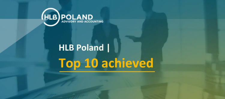 HLB Poland - Top 10 achieved