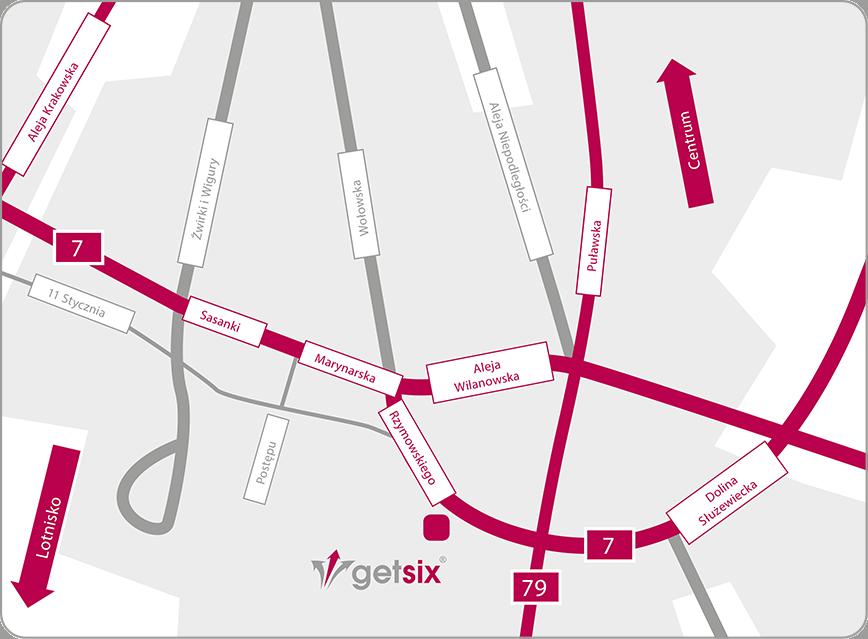 Warszawa Map 3