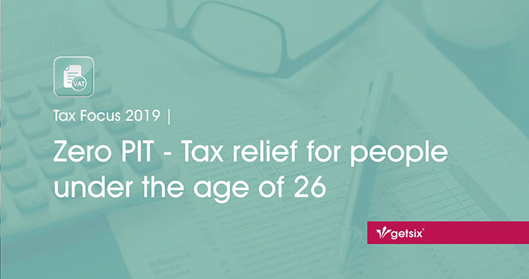 Zero PIT - Tax relief for people under the age of 26