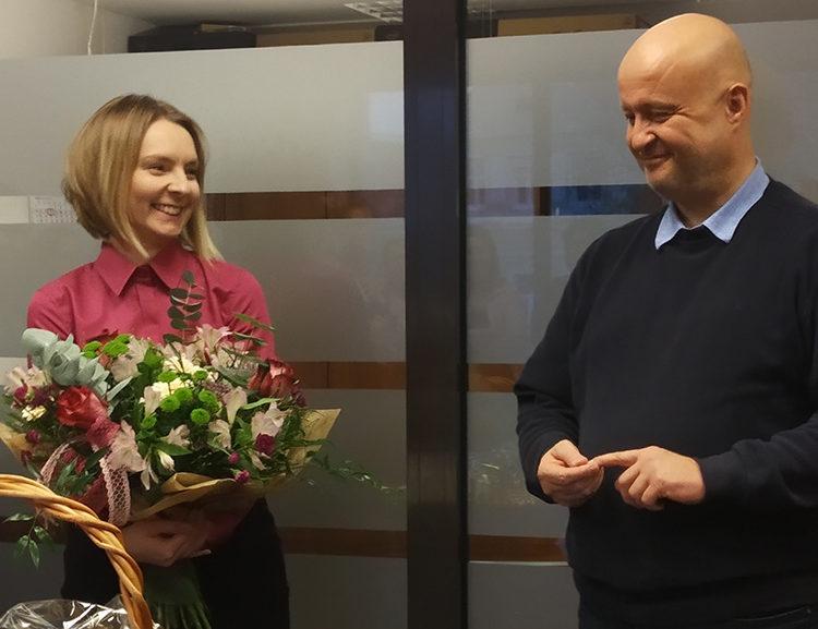 getsix® employee work anniversary - Marta