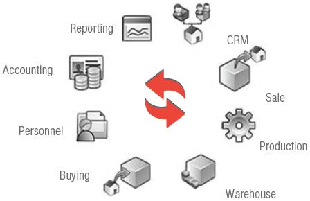 ERP system
