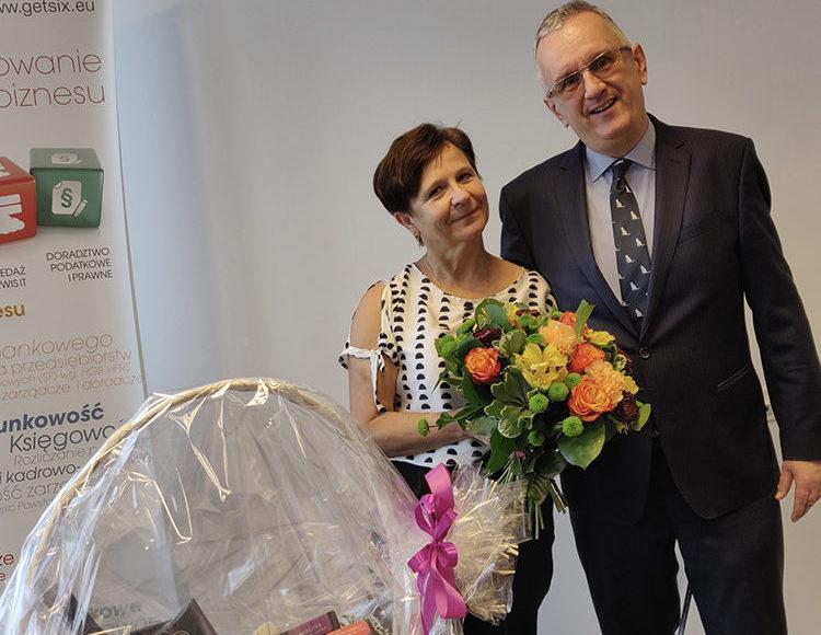 getsix® employee work anniversary - Bozena