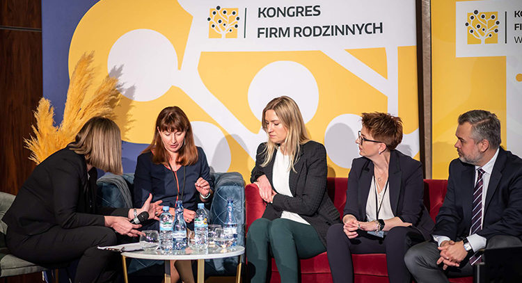getsix® Partner Monika Martynkiewicz-Frank attends the prestigious 'Kongres Firm Rodzinnych' event (Congress_of_Family_Companies)