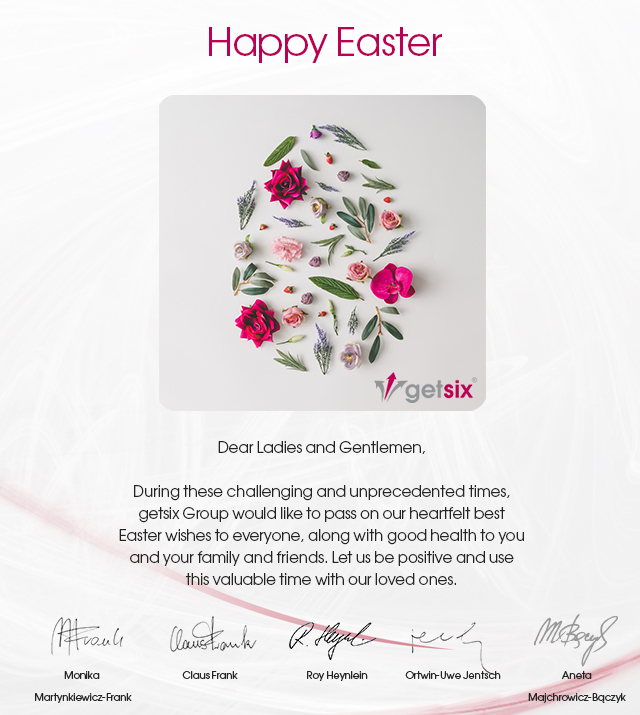 getsix Happy Easter