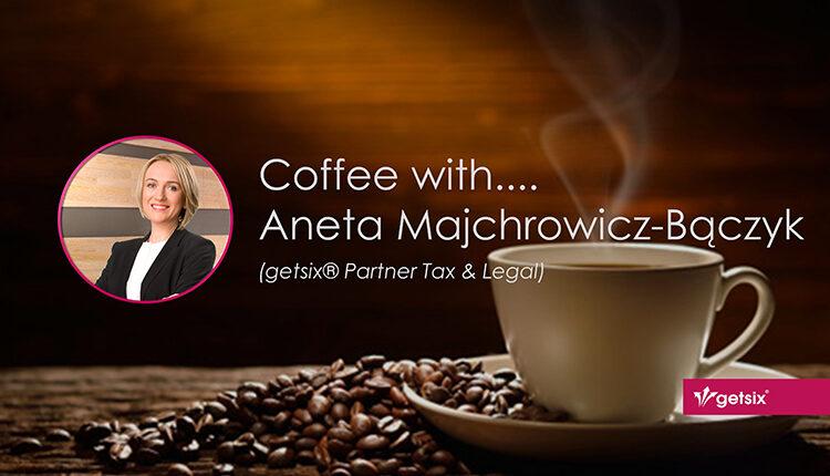 Coffee with… Aneta Majchrowicz-Bączyk