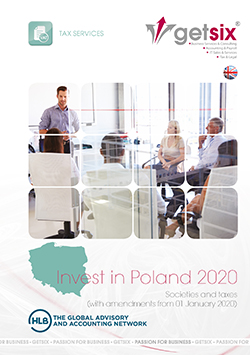 Tax brochure by getsix® Invest in Poland 2020