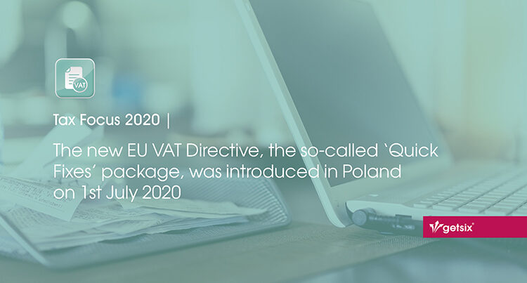 The new EU VAT Directive, the so-called Quick Fixes package