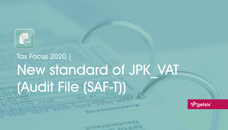 New standard of JPK_VAT