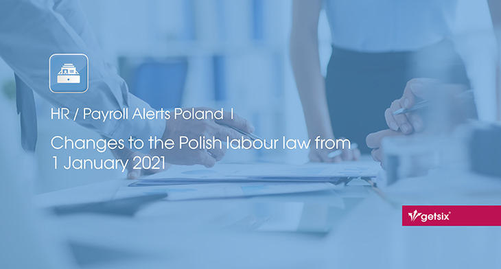 Changes to the Polish labour law from 1 January 2021
