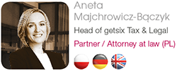getsix® Tax & Legal Aneta Majchrowicz-Bączyk