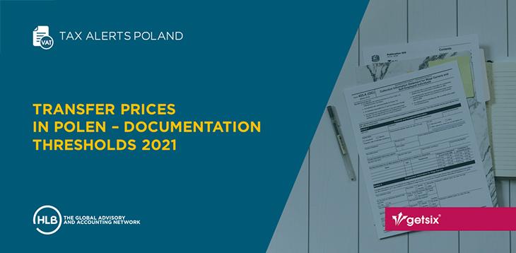 Transfer prices in Polen – Documentation thresholds 2021