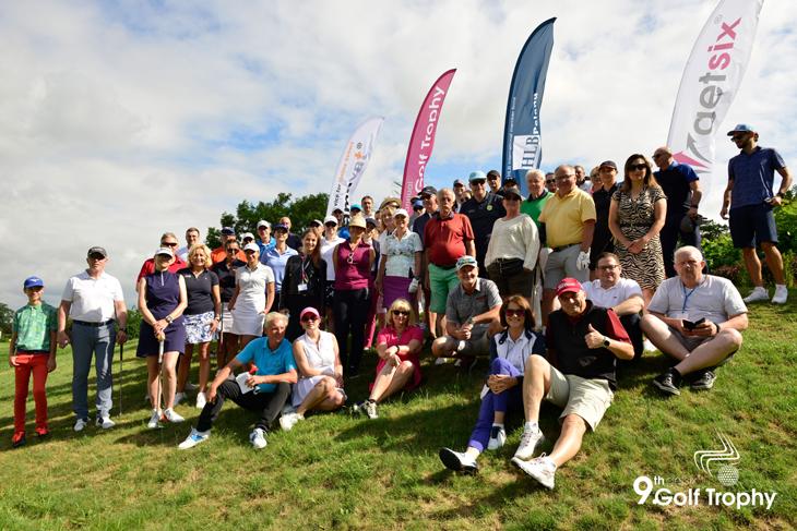 Zdjęcie grupowe uczestników 9. turnieju getsix Golf Trophy