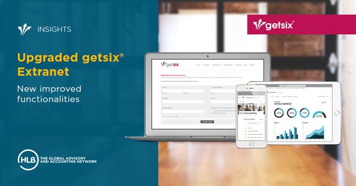 Upgraded getsix® Extranet