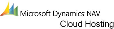 Logo Microsoft Dynamics NAV Cloud hosting