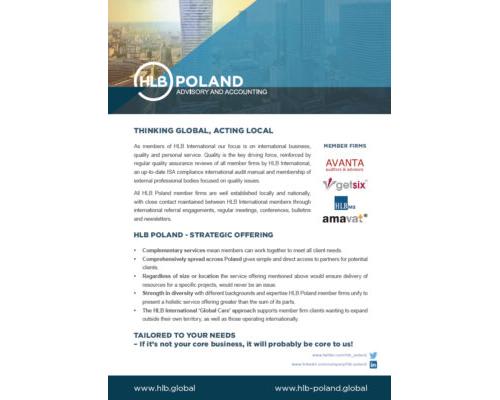 HLB Poland Profile