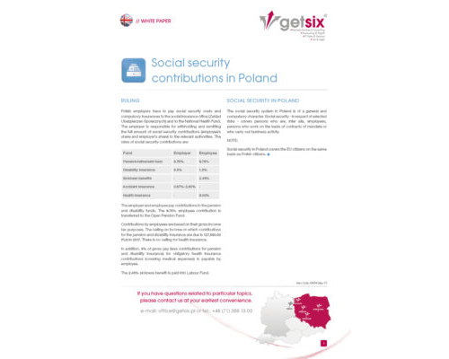 Social security contributions in Poland
