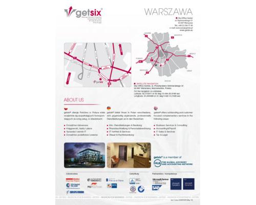 Map of Accounting Office Warszawa